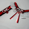 Deadpool Lace Bridal Wedding Garter Set