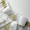 Harry Potter Mischief Managed Footprints Lace Bridal Wedding Garter