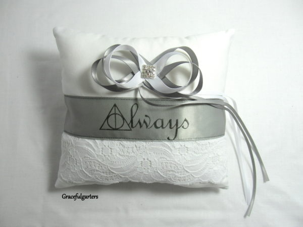 Harry Potter Always Ring Cushion/Pillow