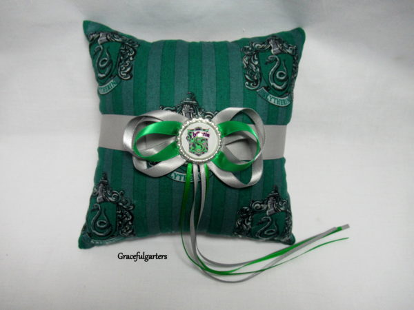 Harry Potter slytherin Ring Cushion/Pillow