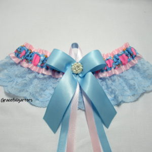 Dumbo Disney Lace Bridal Wedding Garter