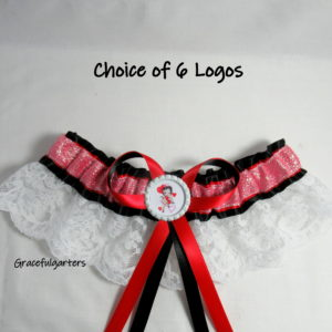 Betty Boop Lace Bridal Wedding Garter