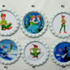 Disney Peter Pan & Tinkerbell Bridal Wedding Garter