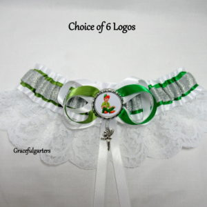 Disney Peter Pan & Tinkerbell Bridal Wedding Garter