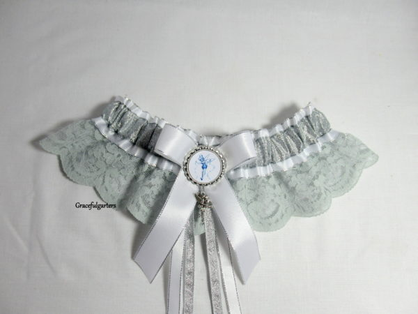 Disney Tinkerbell Lace Bridal Wedding Garter